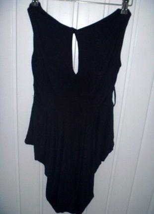 Kup mój przedmiot na #vintedpl http://www.vinted.pl/damska-odziez/topy-koszulki-i-t-shirty-inne/10500607-czarna-bluzka-na-ramiaczkach-zwezana-ku-dolowi