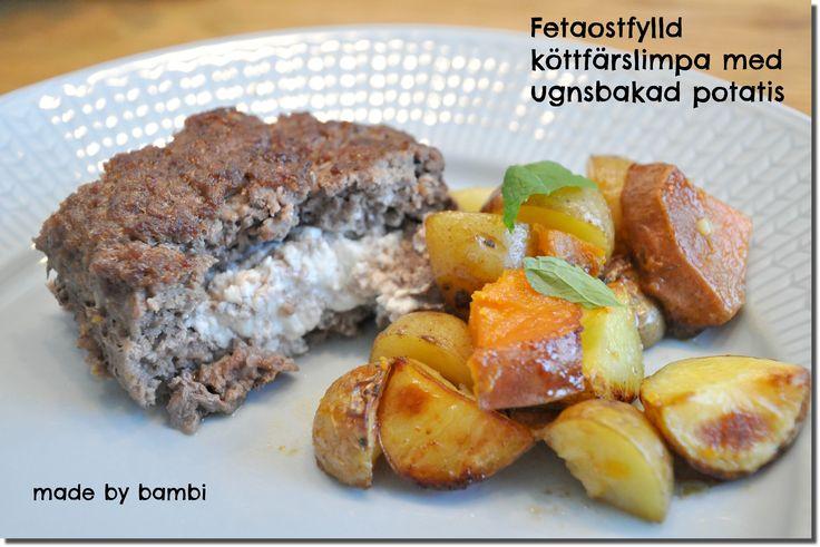 Både Zack och Leah fullkomligt älskar fetaost och vi äter det rätt så ofta hemma på olika sätt.Förra veckan så testade jag att fylla en köttfärslimpa med fetaost och det blev verkligen succé! Det blev inte ens nån matlåda överdå alla tyckte det var såååå gott. Jag älskar också mat där man har allt i […]