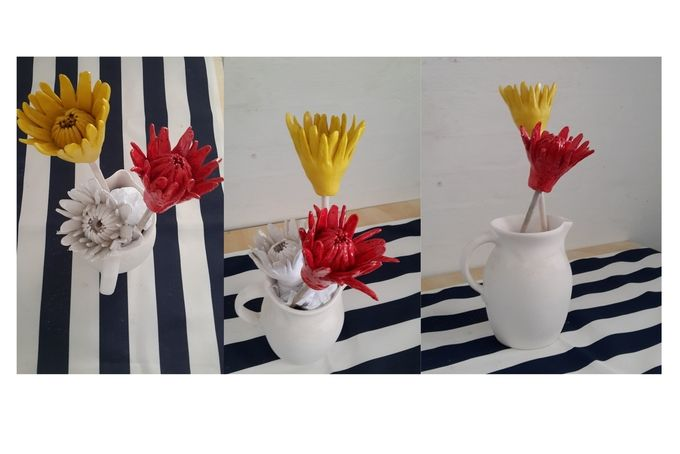 Ceramic Flowers by Noble Handcraft