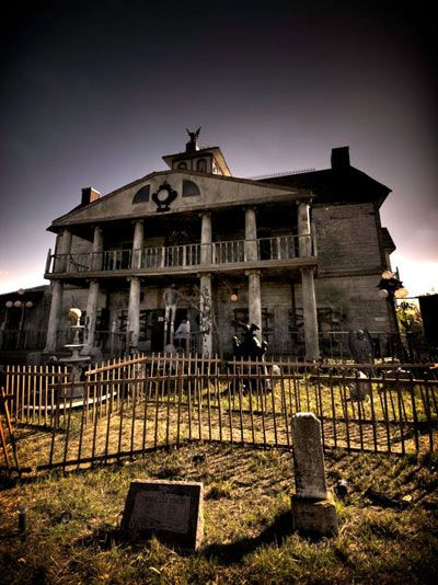 Old, Haunted Houses | ... & Haunted History of Verdun Manor at Thrillvania Haunted House Park
