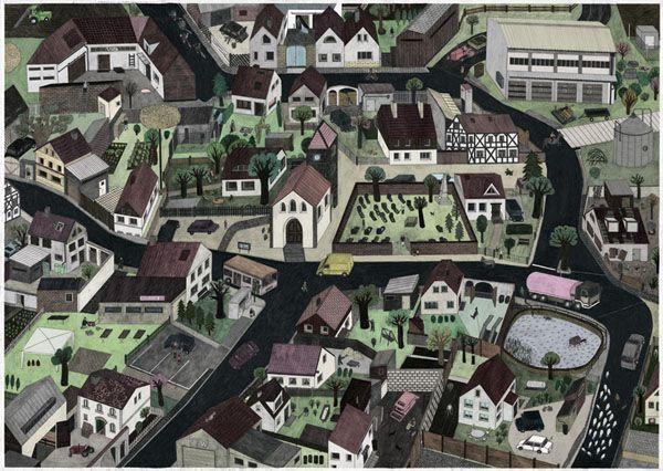 The Village Panorama | Sophia Martineck