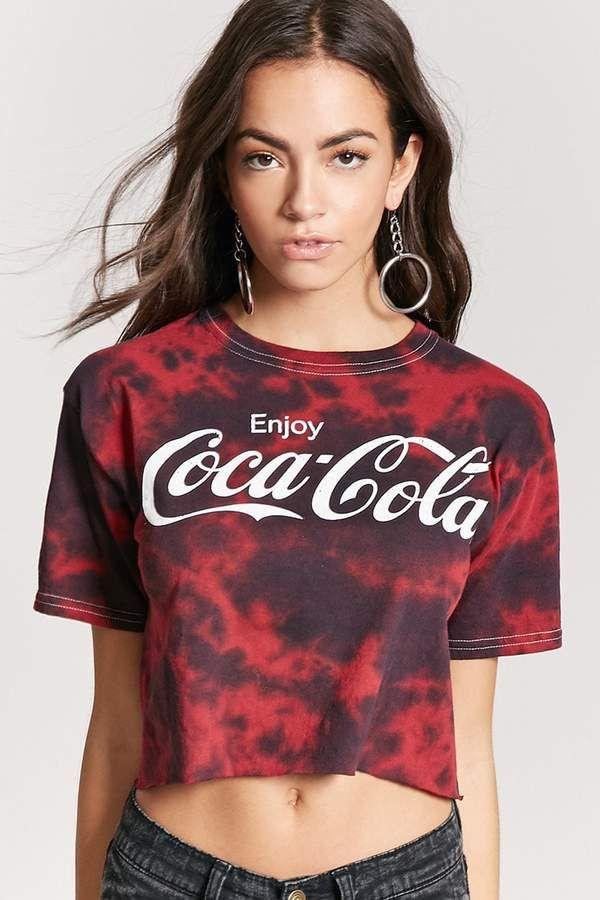 5bfd1b9a Forever 21 Coca-Cola Graphic Tee | Coca-Cola and Misc Soda Pop ...