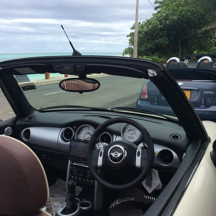 check out our new Mini Cooper convertibles. Hire today from Polynesian Rental Cars in Rarotonga!