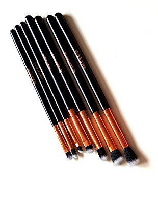 Make-Up Pinsel Set Kosmetik zum Auftragen von Augen Makeup - 7 Teiliges Lidschattenpinsel Set - Premium Schminkpinsel Set - Super Geschenkidee - Angebotspreis nur für kurze Zeit: Amazon.de: Beauty