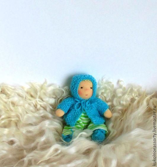 Вальдорфская игрушка ручной работы. Малыш с люлечкой. Кукольное ассорти. Ярмарка Мастеров. Детский сад, что подарить на новый год, сливер