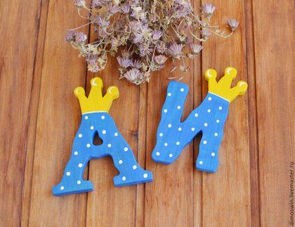 Короны с буквами своими руками