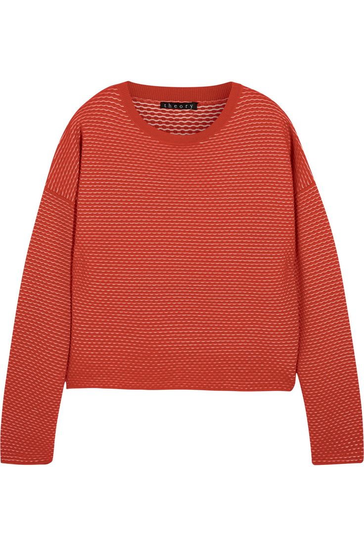 Shop on-sale Theory Tamrist textured-knit sweater . Browse other discount designer Knitwear & more on The Most Fashionable Fashion Outlet, THE OUTNET.COM