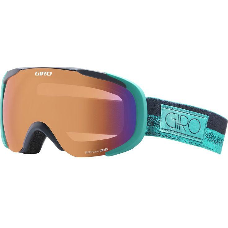 Giro Field Goggles Turquoise/Turbulence Rails One Size