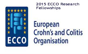 2015 ECCO Research Fellowships for International Applicants in Europe, and applications are submitted till October 1, 2014. The European Crohn's and Colitis Organization (ECCO) is offering two research fellowships for young and enthusiastic basic and/or clinical scientists to promote and encourage innovative research in Inflammatory Bowel Diseases. - See more at: http://www.scholarshipsbar.com/2015-ecco-research-fellowships.html#sthash.C1dzFmz9.dpuf