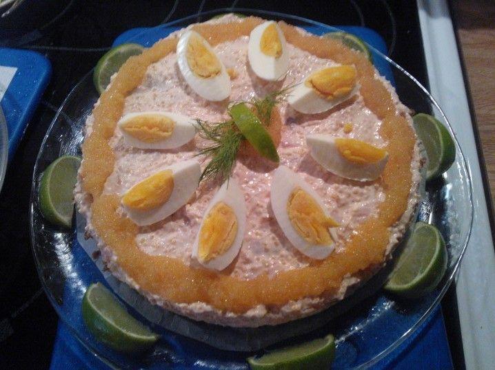 Salmon tart