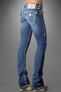 every female body looks good in true religion jeans best fit