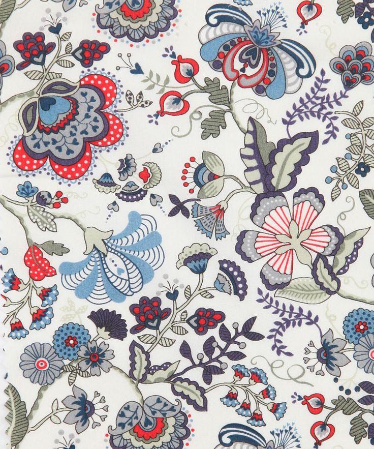 Liberty Art Fabrics Mabelle A Tana Lawn | Fabric by Liberty Art Fabrics | Liberty.co.uk