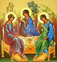 Троица - это день, когда Святой дух сошел на землю.