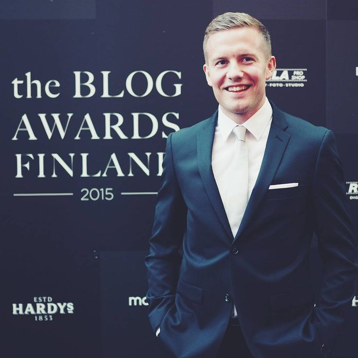 Proud to be at #theblogawardsfinland #tbaf2015 #rookie @turo_official
