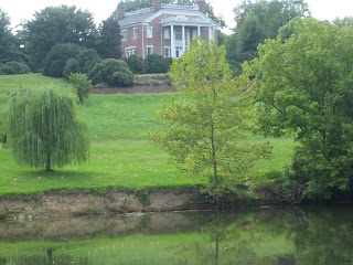 """Built in Kingsport, Tennessee in 1818, Rotherwood Mansion is haunted by the ghost of a """"Lady In White."""" She's believed to be Rowena Ross, the daughter of the builder of the house. She supposedly returns looking for her true love who drowned on the Holston River"""