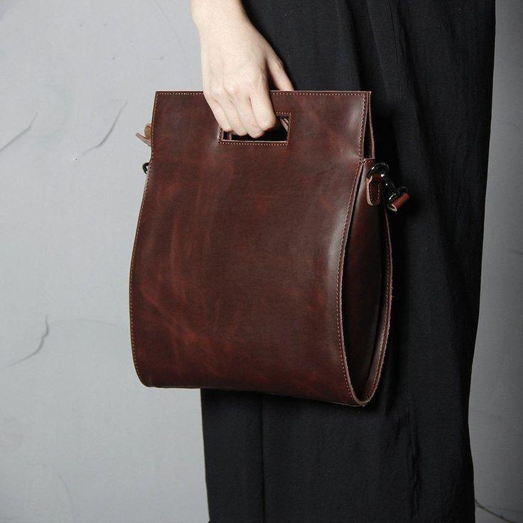 youko leather satchel shoulder bag