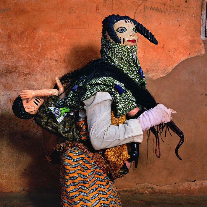 Gelede Masquerade 2, Agonli-Houegbo Village, Benin 2006 via Traces of Creation | photo by Phyllis Galembo