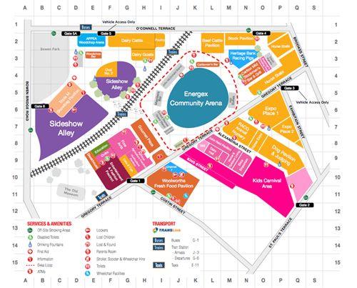 Ekka map