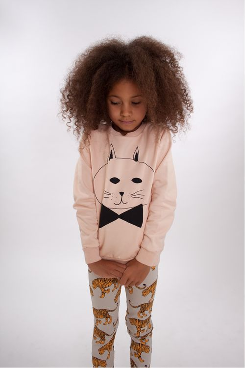 kidsfashionforever:    Sweater: Bobo Choses  Leggings: Mini Rodini