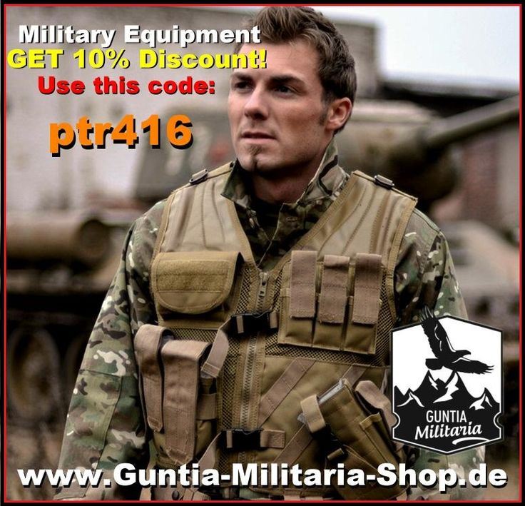 +++ Military Equipment, GET 10% discount to all of our products!  USE this code: ptr416  Visit us now und get your 10% discount: www.Guntia-Militaria-Shop.de +++