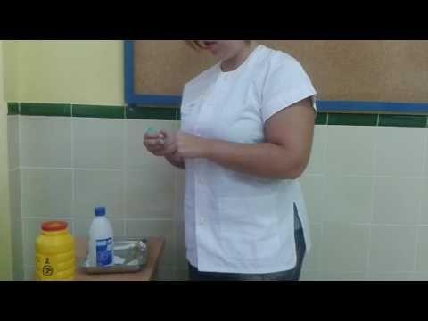 9. Inyección intramuscular