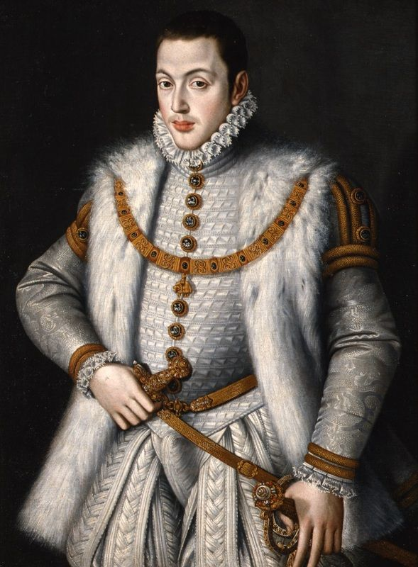 "history-of-fashion: "" 1566 Sofonisba Anguissola - Don Carlos """