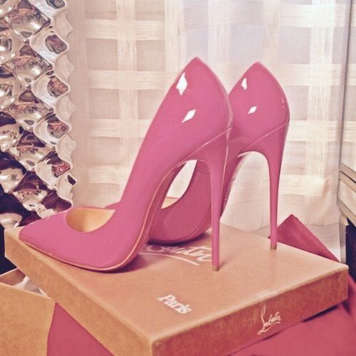 Because every girl needs a pair of pink pumps in her life!