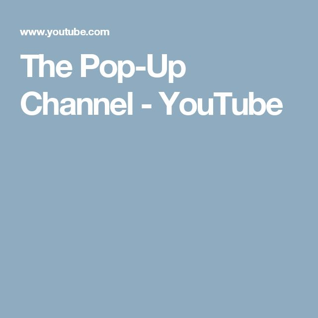 How to make Pop-Up Cards - The Pop-Up Channel  - YouTube channel