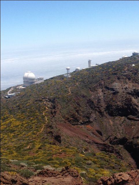Observatoria astrofysica Roque de los Muchachos la Palma