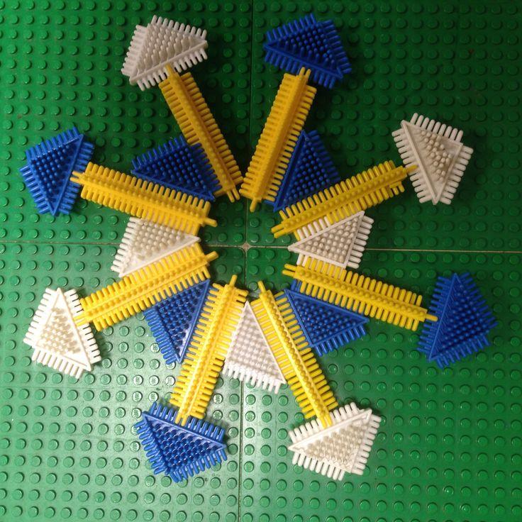 Een ster/ijskristal van Noppers.