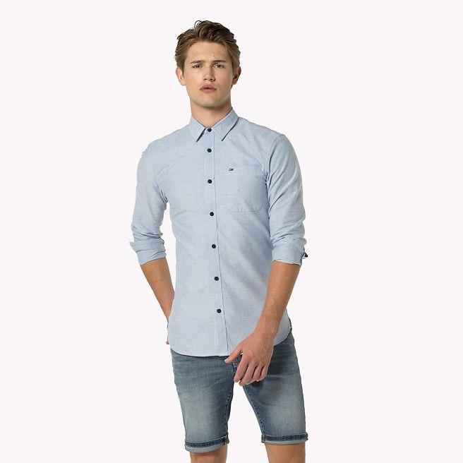 89,90 euro Camicia in tessuto Oxford di cotone di Tommy Hilfiger - bright cobalt (Blue) - camicie casual di Tommy Hilfiger - immagine dettaglio 1