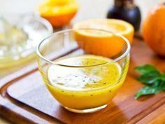 Sauce vinaigrette à l'orange
