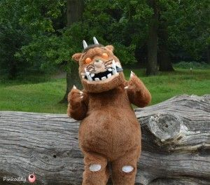 The day we met a real Gruffalo in the forest