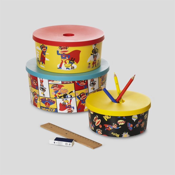 Paul Frank  Round organizers Discover how to organize your room in a whimsical way with Julius and his friends. Designed by ROOM COPENHAGEN