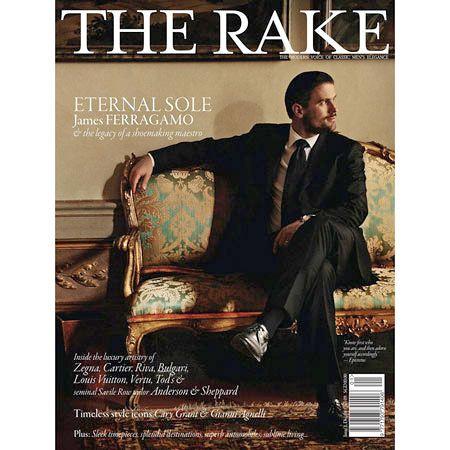 シンガポールのメンズ雑誌「THE RAKE(ザ レイク)」の画像