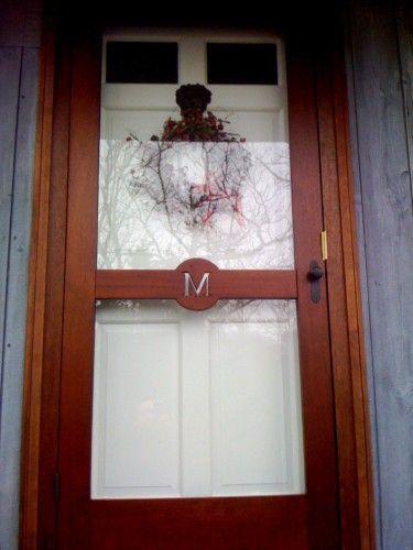 Gallery Custom Screen Doors « Custom Wooden Screen / Storm Doors « Seaport  Shutter