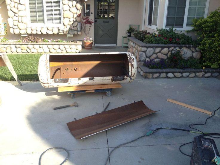 Building a custom reverse flow smoker build a smoker