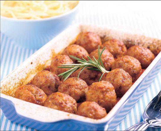Pečené guľky - Recept pre každého kuchára, množstvo receptov pre pečenie a varenie. Recepty pre chutný život. Slovenské jedlá a medzinárodná kuchyňa