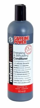 NATURAL WORLD CAFFEINE POWER ENERGISING & STIMULATING CONDITIONER 500ML