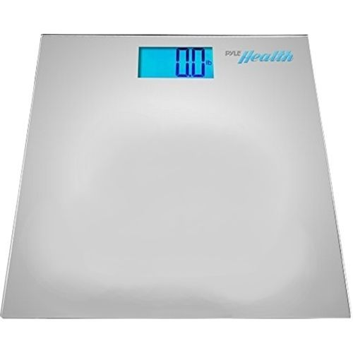 PyleHealth - Bluetooth Digital Weight Scale - Silver