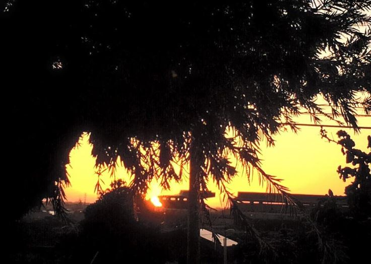 Sunset time at Aiea