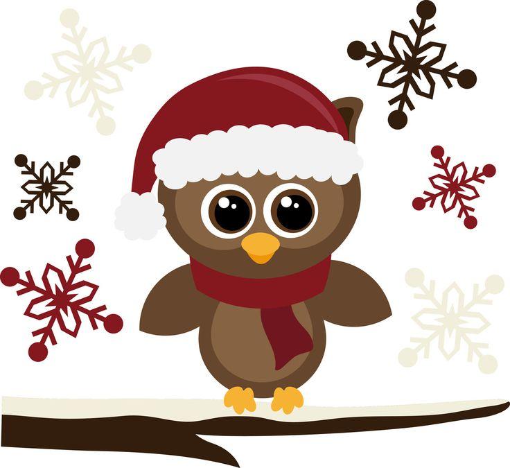 santa hat owls pinterest hats  christmas and santa hat Christmas Owl Clip Art Angel Merry Christmas Clip Art