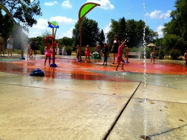 17 best images about water play on pinterest sprinklers - Highland park swimming pool westerville oh ...