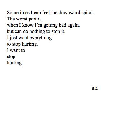 I truly do want to stop hurting. This describes me perfectly. Wanting everything with someone and then out of no where they're gone.