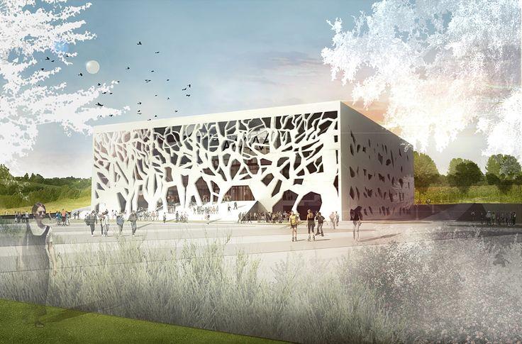 Bernard Tschumi präsentiert das Grottammare Cultural Center, sein erstes Projekt in Italien
