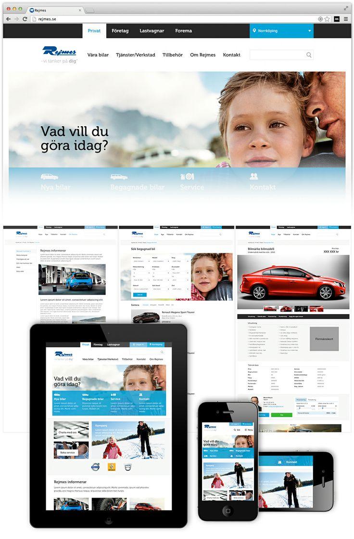 Rejmes  Webbplats