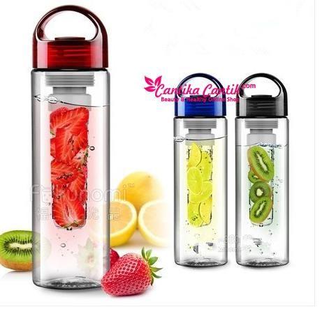Jual Botol Minum Infus Tritan Murah. Botol ini menyediakan tabung untuk menaruh aneka buah di tengah-tengah air putih. **Selengkapnya: http://c-cantik.me/6il **Order Cepat: http://m.me/cantikacantik.id  KONTAK KAMI DI - PIN BBM 2A8FB6B4 - SMS / WA 081220616123 Untuk Fast Response