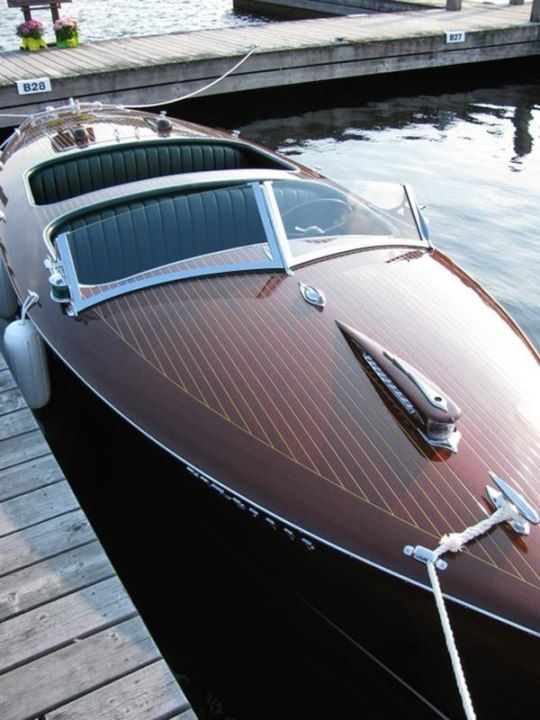 1430 best Wooden Boats images on Pinterest | Power boats ...