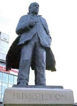 Statue of J.B. Priestley