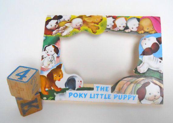 Poky Little Puppy frame